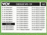 1991 WCW (Impel) Checklist (No.162)