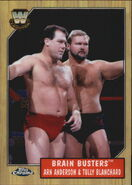 2008 WWE Heritage III Chrome Trading Cards Brain Busters 70