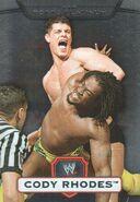 2010 WWE Platinum Trading Cards Cody Rhodes 109