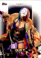 2017 WWE Women's Division (Topps) Asuka 2