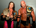 Bret Hart and Goldberg