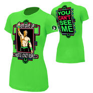 John Cena Neon Green Women's T-Shirt