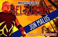 Jon Malus - WF Meltdown 2015 poster