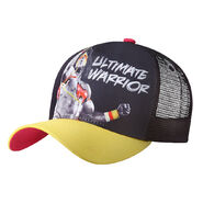 Ultimate Warrior Yellow Mesh Baseball Cap