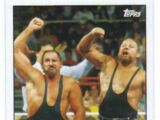 2015 WWE Heritage Wrestling Cards (Topps) The Bushwhackers (No.9)