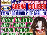 CMLL Guadalajara Domingos (April 21, 2019)