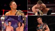 Grand Slam winners The Miz