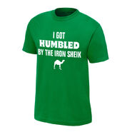 Iron Sheik I Got Humbled Finisher T-Shirt