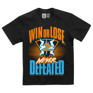 Zack Ryder & Curt Hawkins Never Defeated Youth Authentic T-Shirt