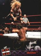 2001 WWF RAW Is War (Fleer) Christian 25