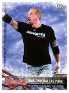 2017 WWE Road to WrestleMania Trading Cards (Topps) Diamond Dallas Page 62