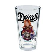 Becky Lynch Toon Tumbler Pint Glass