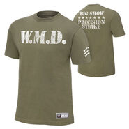 Big Show WMD Authentic T-Shirt