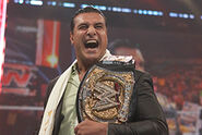 Del Rio as the Undisputed WWE Champion