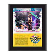 Io Shirai NXT TakeOver In Your House 2020 10 x 13 Limited Edition Plaque