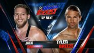 Jack Swagger vs Tyler Breeze