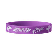 Paige Think Again Silicone Bracelet