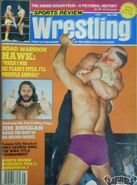 Sports Review Wrestling - May 1988