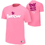 The Miz Rise Above Cancer Pink T-Shirt