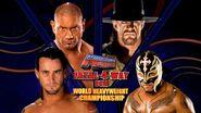 The Undertaker vs CM Punk vs Batista vs Rey Mysterio