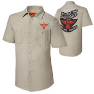 The Wyatt Family Whole World in His Hands work shirt