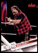 2017 WWE Wrestling Cards (Topps) Mick Foley 25