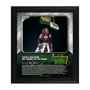 Asuka Money In The Bank 2020 15 x 17 Limited Edition Plaque
