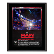 Bobby Lashley RAW New Orleans 10 x 13 Photo Plaque