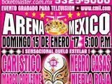 CMLL Domingos Arena Mexico (January 15, 2017)