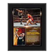 Kevin Owens Night of Champions 2015 10.5 x 13 Photo Collage Plaque