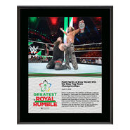 Matt Hardy & Bray Wyatt Greatest Royal Rumble 2018 10 x 13 Photo Plaque