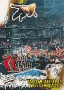 2001 WWF WrestleMania (Fleer) Tag Team Daredevils 100