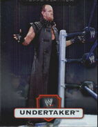 2010 WWE Platinum Trading Cards Undertaker 73