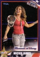 2013 TNA Impact Glory Wrestling Cards (Tristar) Mickie James 7