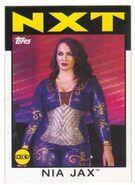 2016 WWE Heritage Wrestling Cards (Topps) Nia Jax 67