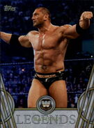 2018 Legends of WWE (Topps) Batista 3