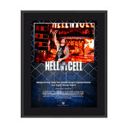 Baron Corbin Hell In A Cell 2017 10 x 13 Commemorative Photo Plaque