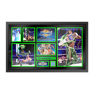 Naomi WrestleMania 33 Signed Commemorative Plaque
