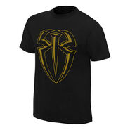 Roman Reigns I Can I Will Gold Edition T-Shirt