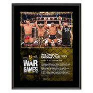 Team Ciampa WarGames 2019 10x13 Commemorative Plaque