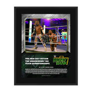 The New Day Money In The Bank 2020 10 x 13 Limited Edition Plaque