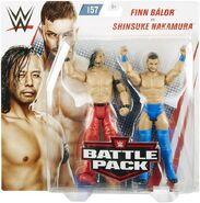 WWE Battle Packs 57 Shinsuke Nakamura & Finn Balor