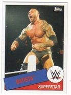 2015 WWE Heritage Wrestling Cards (Topps) Batista 62