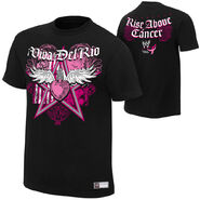 Alberto Del Rio Rise Above Cancer Black Authentic T-Shirt
