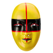 Asuka Yellow Plastic Mask