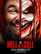 Hell in a Cell 2019 Poster