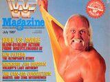 WWF Magazine - July 1987