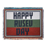 Rusev Happy Rusev Day Tapestry Blanket