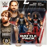 WWE Battle Packs 55 Seth Rollins & Dean Ambrose