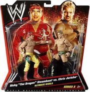 WWE Battle Packs 5 Ricky Steamboat & Chris Jericho